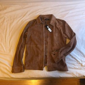 J Lindenberg real Suede leather jacket